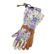 Womanswork 718S Purple, Small, Purple Floral