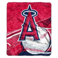 Officially Licensed MLB Big Stick Sherpa Throw Blanket