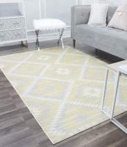CosmoLiving by Cosmopolitan Mecca Area Rug, Sunflower