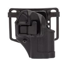 BLACKHAWK Serpa CQC Holster fits Glock 42, Left Hand, Black