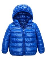 IKALI Kids Down Coats, Spring Light Weight Packable Puffer Jacket with Hood Pockets for Girls Boys Outwear Clothes (2-12Y)