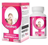 FertilHerb® for Women Fertility Supplement | Doctor Recommended, All Natural, Antioxidants, Herbal Fertility Formula & Multivitamin for Women, 30 Servings Per Bottle