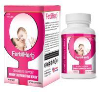 FertilHerb® for Women Fertility Supplement | Doctor Recommended, All Natural, Antioxidants, Herbal Fertility Formula & Multivitamin for Women, 30 Servings Per Bottle