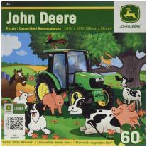 MasterPieces John Deere Farmer John's Welcome Jigsaw Puzzle, 60-Piece