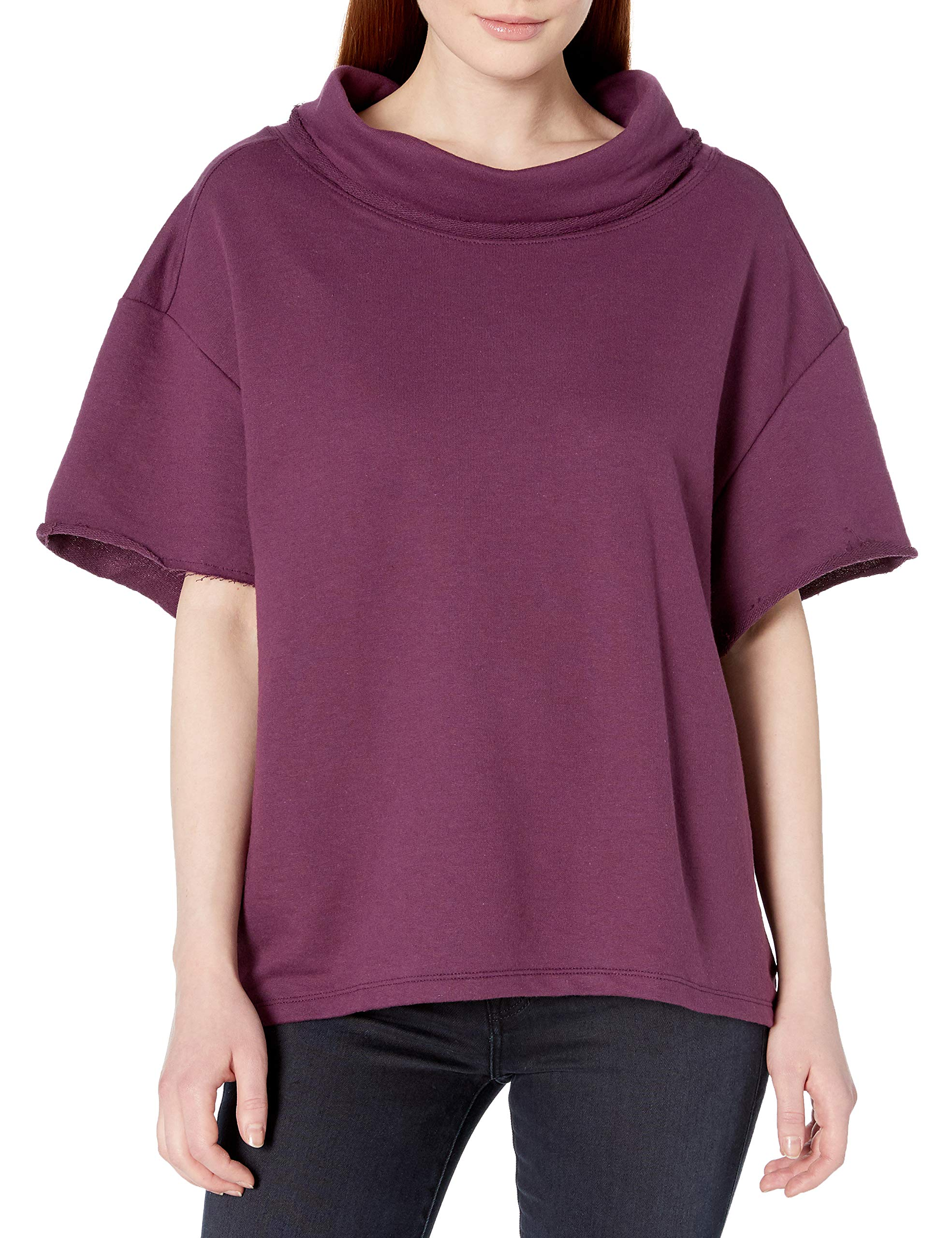Fruit of the Loom Women's Essentials Over The Top Cowl Neck Pullover