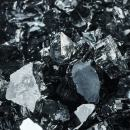 Storm Gray - Fire Glass for Indoor and Outdoor Fire Pits or Fireplaces | 10 Pounds | 1/4 Inch, Reflective