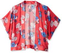 Seafolly Girls' Big Printed Kimono Swimsuit Cover Up