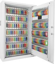 Barska 144 Wall Digital Keypad Cabinet Key Safe, White