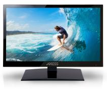AXESS TV1703-16 16-Inch LED Widescreen HDTV, Features 12V Car Cord Technology, VGA/HDMI/SD/USB Inputs, Built-In Digital and Analog TV Tuner, Full Function Remote