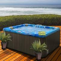 American Spas AM-637LP 5-Person Hot Tub, Summer Sapphire