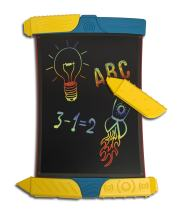 Boogie Board Scribble and Play Color LCD Writing Tablet + Stylus Smart Paper for Drawing eWriter Ages 4+