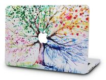 "KECC Laptop Case for Old MacBook Pro 13"" Retina (-2015) Plastic Hard Shell Cover A1502 / A1425 (Four Season Tree)"