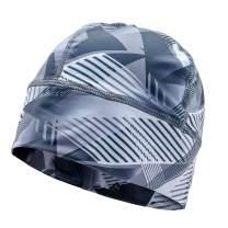 SLS3 Running Beanie - Thin Winter Runners Cycling Hat - Moisture Wicking Beanies Cap for Men/Women