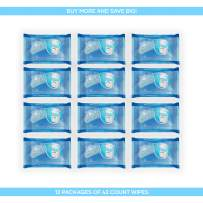 BouDe Flushable Wipes 42ct Refill, 12 Pack