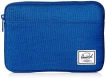 Herschel Anchor Sleeve for MacBook/iPad, Monaco blue crosshatch, Mini
