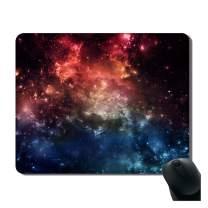 iFUOFF Mousepad, Non-Slip Rubber Fashion Galaxy Nebula Rectangular Mouse Pad Mat