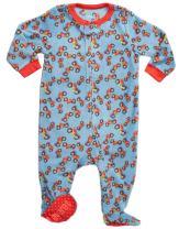 Leveret Fleece Baby Boys Footed Pajamas Sleeper Kids & Toddler Pajamas (3 Months-5 Toddler)