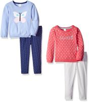 Carter's Girls' 4-Piece Sweater and Legging Set