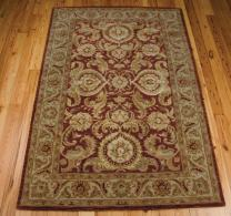 "Nourison Jaipur Cinnamon Rectangle Area Rug, 3-Feet 9-Inches by 5-Feet 9-Inches (3'9"" x 5'9"")"