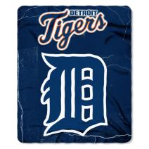 MLB Detroit Tigers Wicked Printed Fleece Throw, 50 x 60-inches