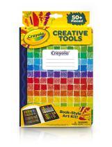 Crayola Creative Tools Art Set, School Supplies, Gift, Over 50 Pieces, (Model: 04-6828)