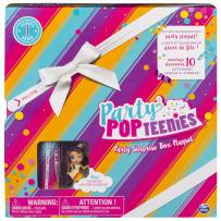 Party Popteenies - Rainbow Unicorn Party Surprise Box Playset with Confetti, Exclusive Collectible Mini Doll and Accessories, for Ages 4 and Up (Packaging may vary)