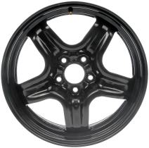 "Dorman 939-101 Black Steel Road Wheel 17x7""/5x110mm with 40mm Offset"