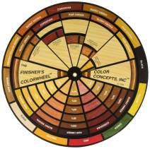 "Mohawk Finishing Products M900-1050 Mohawk Finisher's Colorwheel 9"" Dia Color Wheel, Multi"