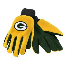 FOCO NFL Colored Palm Utility Work Gloves
