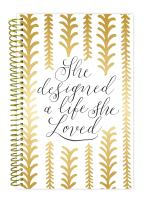 """bloom daily planners 2017-18 Academic Year Daily Planner - Passion/Goal Organizer - Monthly and Weekly Datebook and Calendar - August 2017 - July 2018-6"""" x 8.25"""" - Writefully His"""