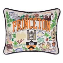 Catstudio Princeton University Collegiate Embroidered Decorative Throw Pillow