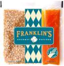 Franklin's Gourmet Movie Theater Popcorn. Organic Popping Corn, 100% Coconut Oil, Seasoning Salt. Pre-Measured Portion Packs (Pack of 24).