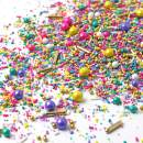 Spring Bling Sprinkle Mix| Pastel | Pink and Purple| Teal | Yellow | Easter Sprinkles, 4OZ