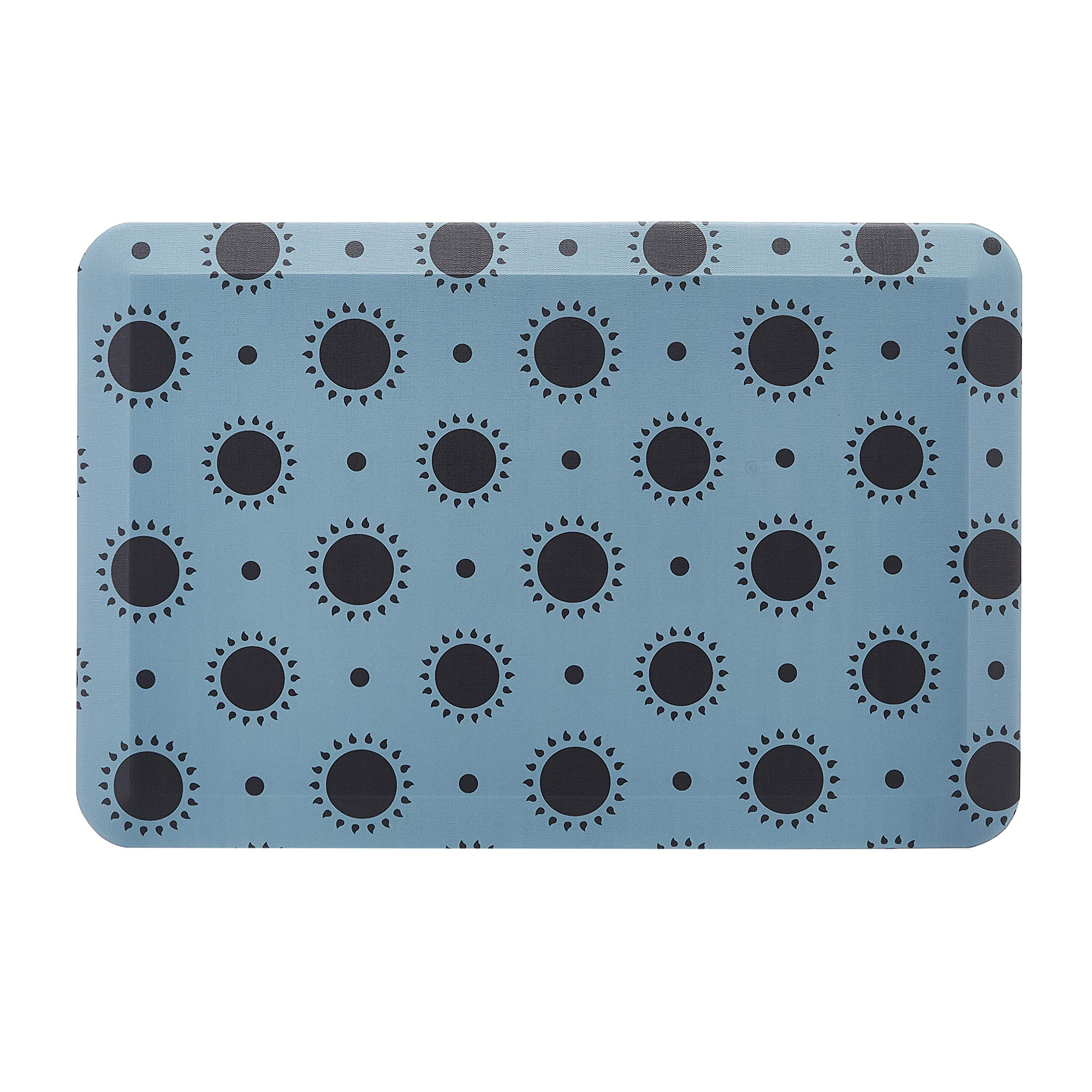 """AmazonBasics Anti-Fatigue Standing Comfort Mat for Home Kitchen and Office - 20 """" x 30"""", Sunflower"""