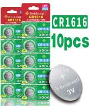 Beidongli CR1616 3 Volt High Capacity Lithium Coin Battery (10 PCS)