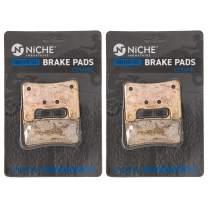 NICHE Brake Pad Set for Suzuki GSXR600 GSXR750 GSX1300R Kawasaki Z1000 59100-29840 Front Ceramic 2 Pack