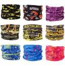 Besteel 9PCS Seamless Headband Bandanas for Men Women Headwear-Versatile Neck Gaiter, Headwrap,Scarf, Balaclava, Helmet Liner- Camping, Running, Cycling, Fishing UV Resistance Headwear