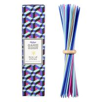 Ridley's AGAM096 Classic 41 Piece Color Pick Up Stick Set for All Ages with Wooden Ring Holder, Multicolor