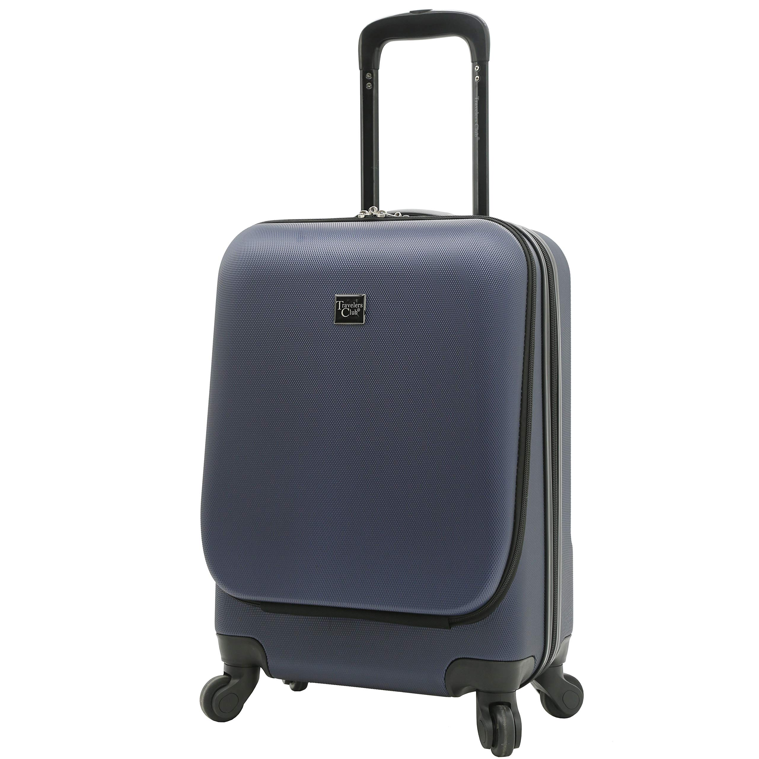 Travelers Club Laptop Carry On Hardside 4 Wheel Spinner