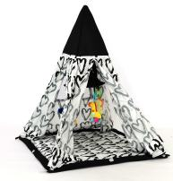 Asweets 17701015 Baby Teepee Play Tent, Multicolor