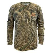 Staghorn All Over Camo Long-Sleeve Tee Shirt