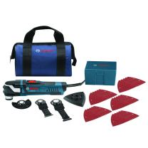 Bosch StarlockPlus Oscillating Multi-Tool Kit with Snap-In Blade Attachment GOP40-30B