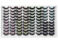 40 Pairs False Eyelashes ZENOTTI Wholesale Bulk False Lashes Natural Look Wispy Eye Lashes 8 Mixed Styles Faux Mink Lashes Volume Fluffy Eyelashes Pack