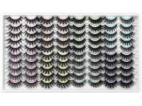 40 Pairs False Eyelashes ZENOTTI Wholesale Bulk False Lashes Natural Look Wispy Eye Lashes 8 Mixed Styles Faux Mink Lashes Volume Fluffy Eyelashes Pack
