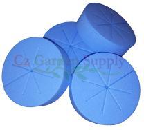 Cz Garden Supply Cloning Collars Inserts Premium Grade Foam Better Than Neoprene for Hydroponics Plant Germination in DIY Cloner & Clone Machines (fits 3 inch net pots/Cups, Blue - 25 Pack)