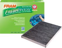 FRAM CF9597A Fresh Breeze Cabin Air Filter with Arm & Hammer