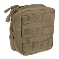 """5.11 Tactical 6"""" x 6"""" All Weather Nylon Molle Padded Pouch, YKK Zipper Hardware, Style 58714"""