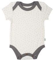 Finn + Emma Organic Cotton Lap Bodysuit for Baby Boy or Girl – Hoof, 9-12 Months