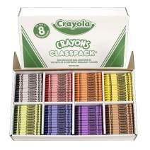 Crayola Crayon Classpack, School Supplies, Regular Size, 8 Colors, 800 Count