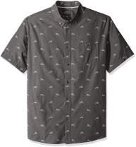 Quiksilver Men's Mahi Hami Short Sleeve Shirt